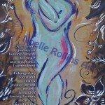 eagle pose look inward soulful yoga artwork by noelle rollins art