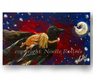 Take these broken wings art by Noelle Rollins