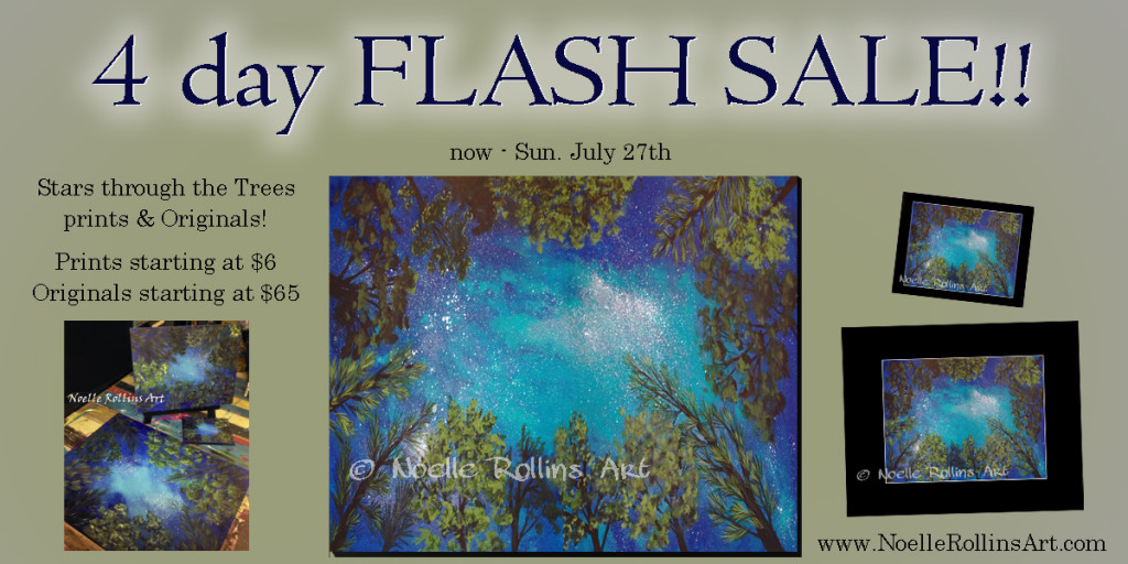 StarsThroughTreesFlashSale