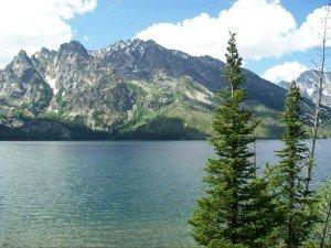Lake near Yellowstone