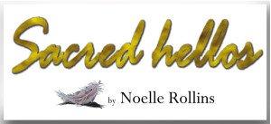 Sacred Hellos Logo by Noelle Rollins Art
