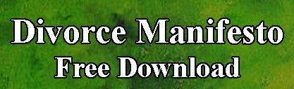 Divorce Manifesto button
