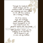 inside of card for wedding from bride to new parents