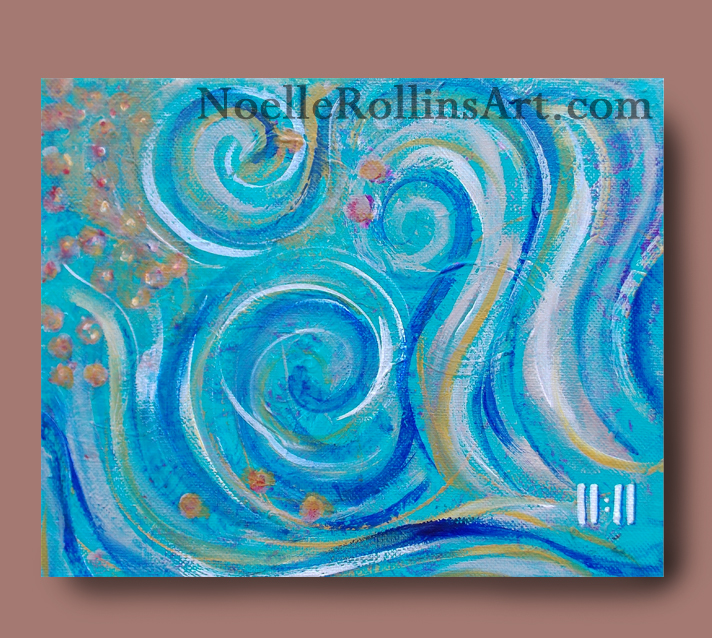 11:11 energy painting honoring the magical time and sign from spirit
