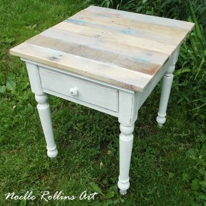 PalletWoodSideTable