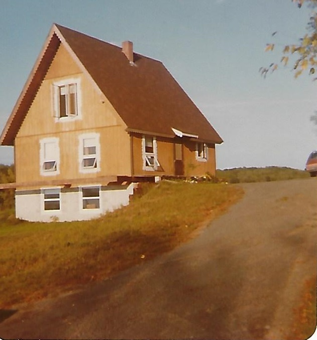 Our home in 1977