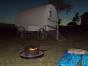 Sleeping under the stars Ingalls homestead De Smet
