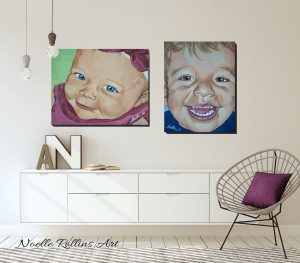 portraits in cute home modern