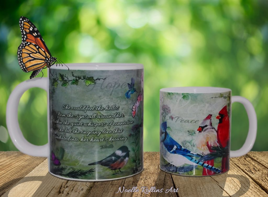 Sacred hello mugs
