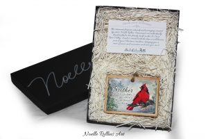 brother memorial ornament gift set