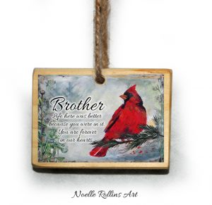 brother remembrance ornament