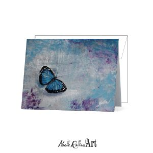 butterfly remembrance card