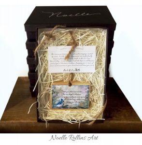 Blue Jay memorial ornament boxed set 2018