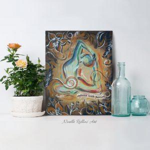 artwork for sacral chakra