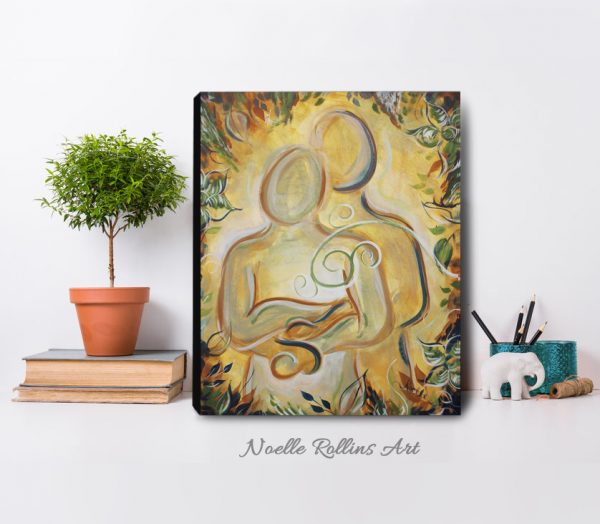 romantic canvas print