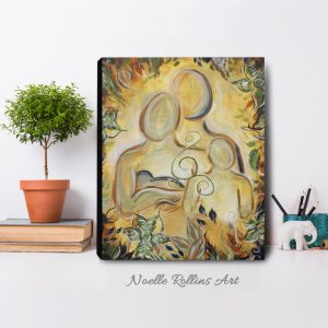 family art print for home or natural health practice