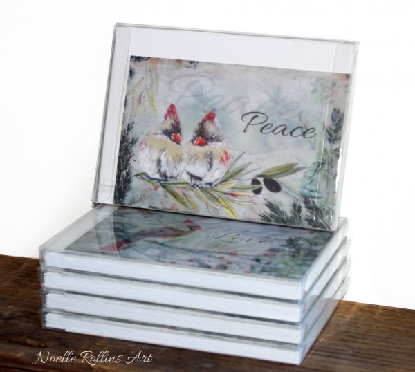 love peace joy and hope card set