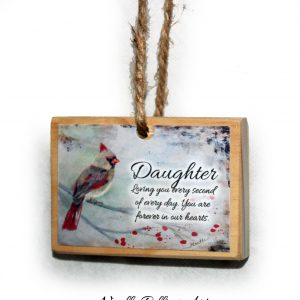 daughter remembrance ornament