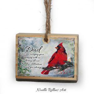 dad memorial ornament