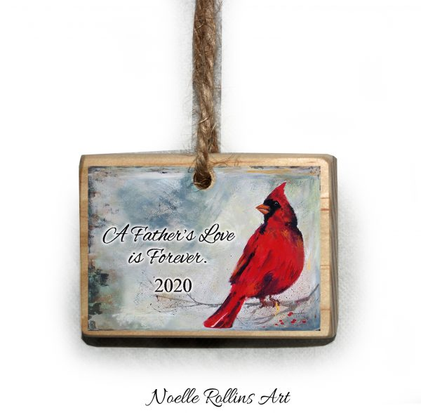 2020 father remembrance ornament