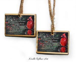 artisan remembrance christmas ornaments