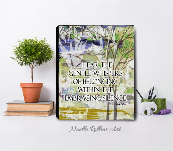 Nature inspiring print