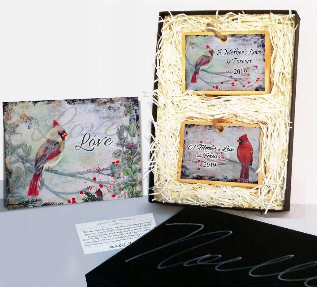 boxed gift set to honor a loved one who has passed on
