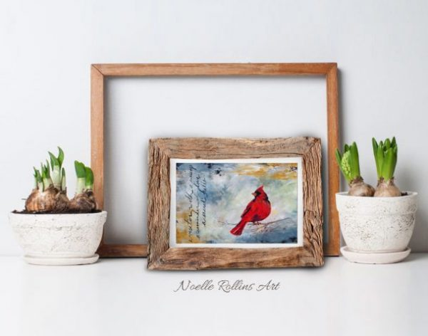 cardinal visitor sign from spirit