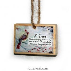 mom remembrance ornament