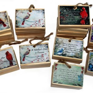 set of 33 remembrance memorial Christmas ornaments