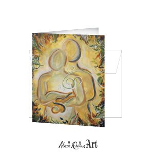 couple folded note card.