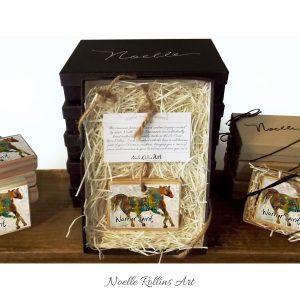 horse artisan ornament warrior spirit message