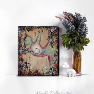 standing bow canvas art print wholesale