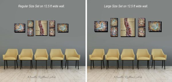 size of chiropractor art package