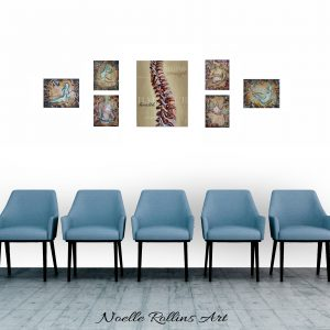wall art for chiropractor