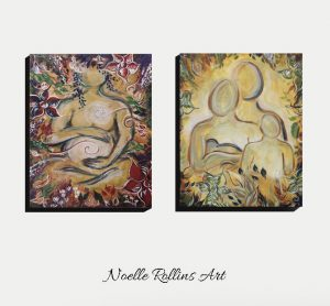 wall art pregnancy and newborn