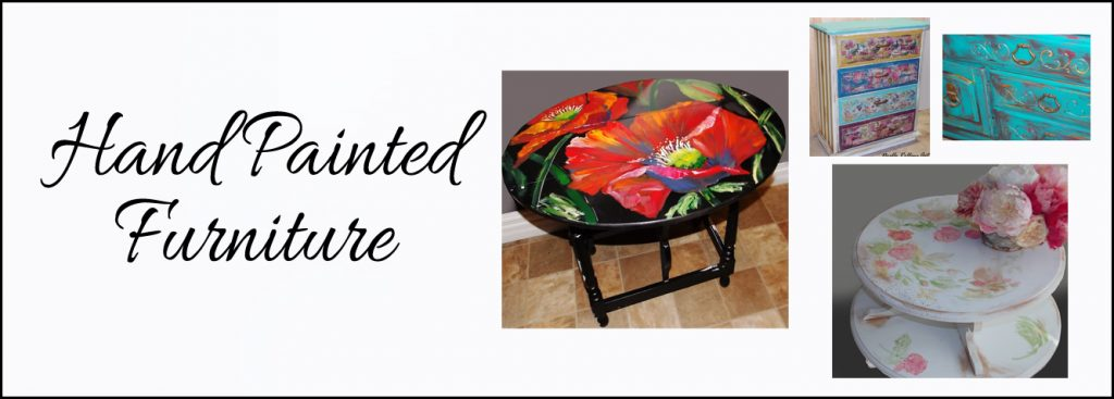 hand painted furniture banner