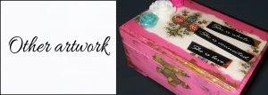 general artwork dream boxes from Noelle Rollins Art