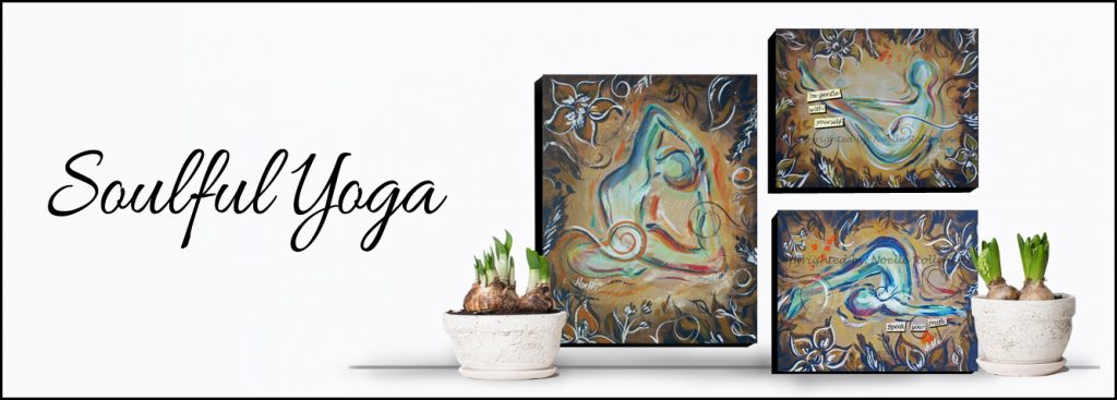 soulful yoga artwork