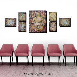 birth center artwork set