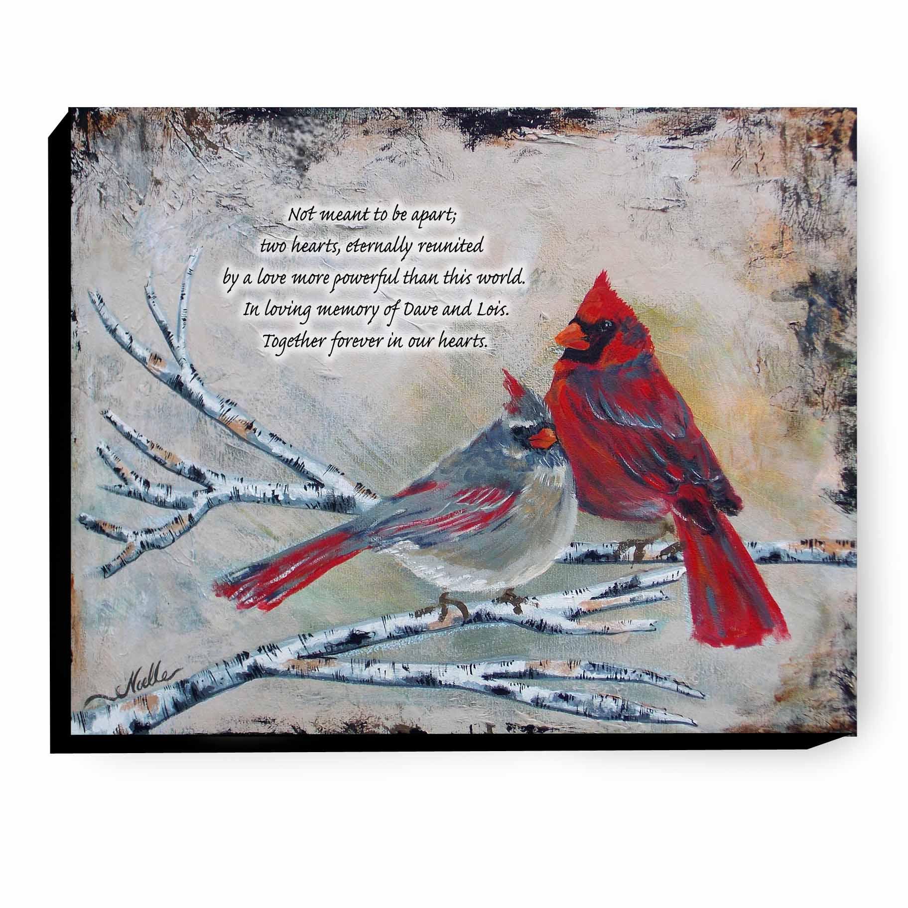 cardinal customized artwork