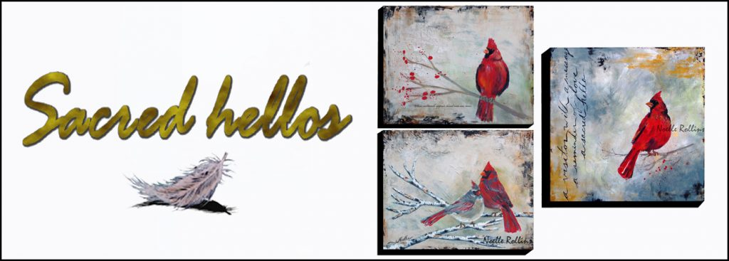 sacred hellos artwork banner