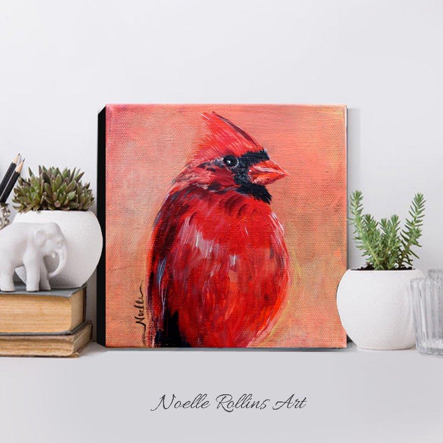 cardinal original artwork