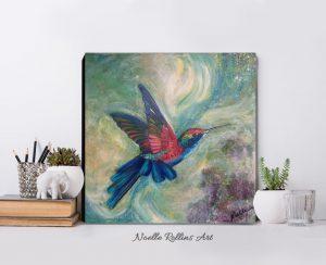 magical hummingbird