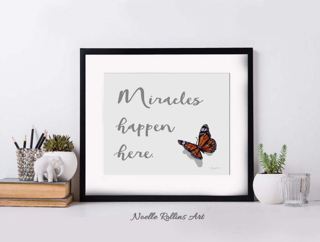 miracles happen here artwork
