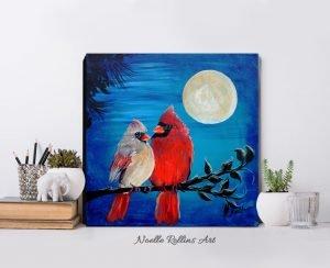 cardinal romantic artwork
