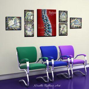 artwork for chiropractor