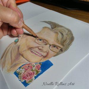 memorial portrait package