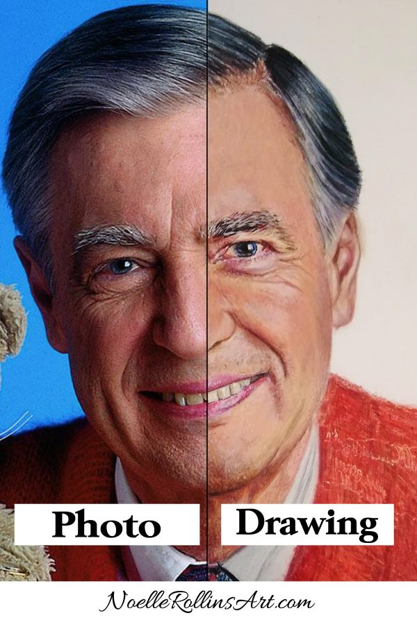 drawing of mr rogers