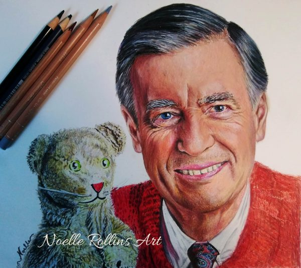 Mr Rogers neighborhood portrait